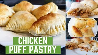 HOW TO MAKE ĊHICKEN PUFF PASTRY RECIPE // CHICKEN PATTIES USING PUFF PASTRY SHEETS