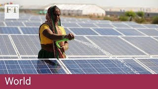 India puts up tariffs on Chinese solar panels