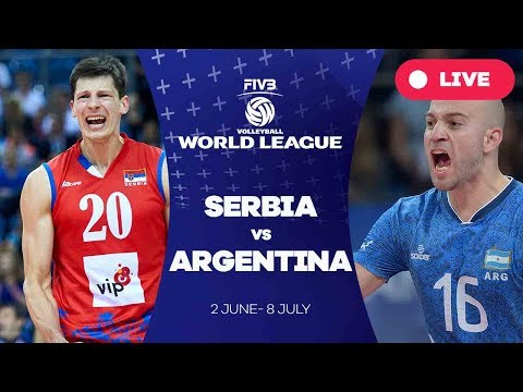 Serbia v Argentina - Group 1: 2017 FIVB Volleyball World League