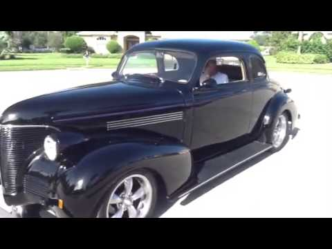 1939 Chevy Master Deluxe Coupe For Sale