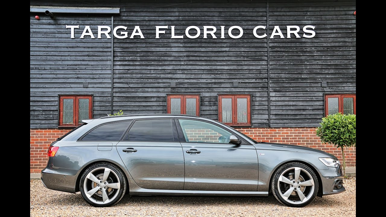 audi a6 avant 2 0 tdi s line black edition automatic in daytona grey with s line black leather. Black Bedroom Furniture Sets. Home Design Ideas