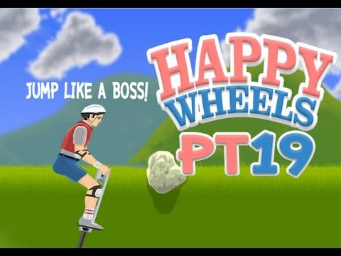[DnGp]HappyWheels Pt.19 โปโกะตายยาก? (GenesisZ Has Join!!!)