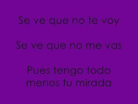 Canciones Tristes: Luis Miguel - Tengo Todo Excepto A Ti