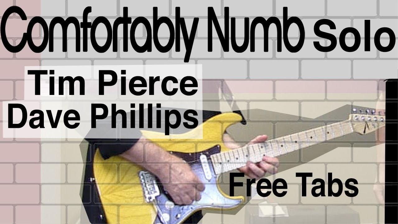 """Comfortably Numb"""" solo and tone (David Gilmour) - Tim Pierce"""