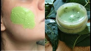 Apply Neem Aloevera Gel on Face Skin &amp Remove DarkSpots, Pimples, Large Open Pores