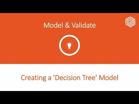 08 Creating a 'Decision Tree' Model