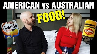 Testing Australian and American Snack Foods for the First Time