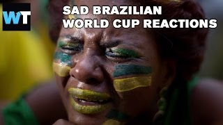 Crying Brazilians After World Cup Semi Final | What's Trending Original
