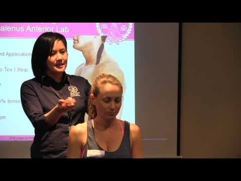 Weak and tight neck muscles restored with Kinesio Tape