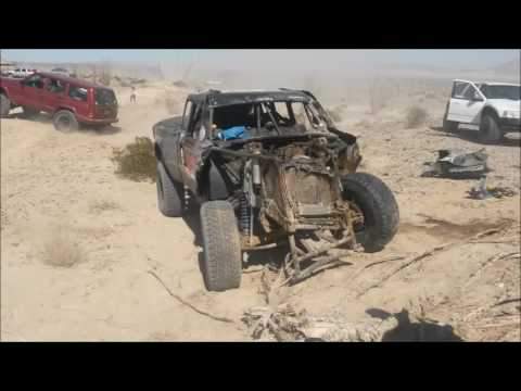 Trophy Truck crashes BAJA 2015 1