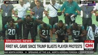 NFL Players Kneel During National Anthem in London