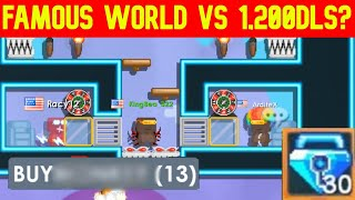 1,200 DLS VS BUY+ IN CASINO EZ WIN! | CASINO #14 | Growtopia