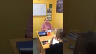 Урок немецкого языка на курсах школы Мастер класс
