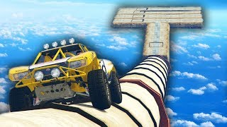 TUBERIAS IMPOSIBLES!!! - CARRERA GTA V ONLINE - GTA 5 ONLINE