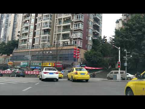 Driving in Chongqing, China, known as the East Manhattan4K
