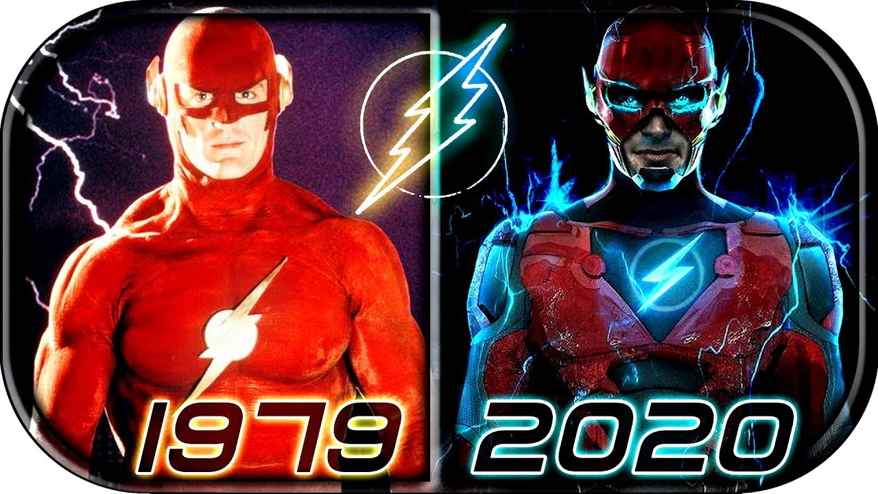 EVOLUTION of FLASH in MOVIES & TV Series (1979-2020) The Flash: Flashpoint movie trailer scene 2