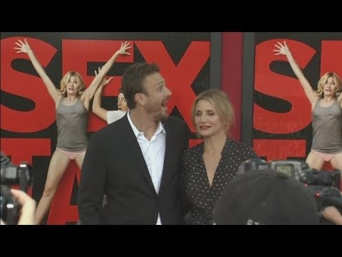 Sex Tape premiere: Cameron Diaz and Jason Segel on getting naked