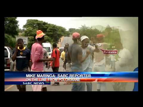 Mayhem has erupted in Malamulele after loosing the municipality battle