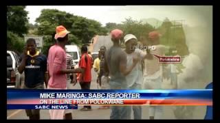 Mayhem has erupted in Malamulele after loosing the municipality battle
