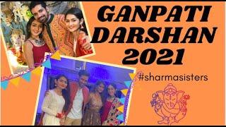 Ganpati Darshan 2021 Vlog | SSK-2 | Sharma Sisters | Tanya Sharma | Krittika M Sharma