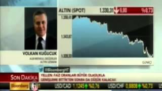 Forex Uzmanı Volkan Kuğucuk, altın piyasalarını değerlendiriyor. Bloomberg HT