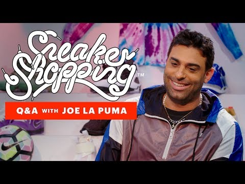 Joe La Puma Tells Never Before Heard Stories And Answers Fans Questions | Sneaker Shopping