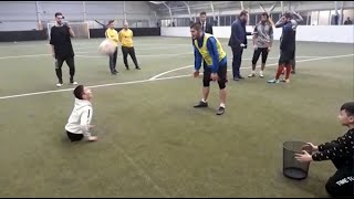 Хабиб Нурмагомедов сыграл в футбол с Али Турганбековым