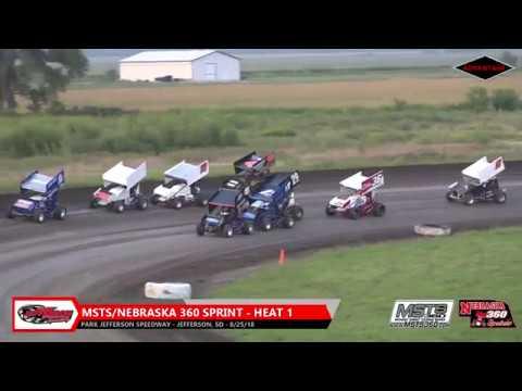 360 Sprint/USMTS Heats - Park Jefferson Speedway - 8/25/18