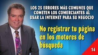 Error 14 - No Registrar Tu Página En Los Motores De Búsqueda