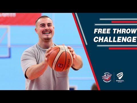 Bristol Flyers Free Throw Challenge - Ollie Dawe