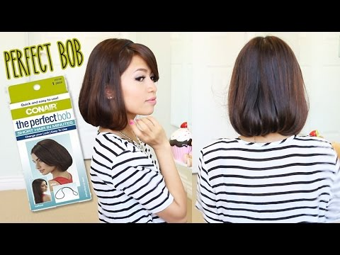 First Impression: Conair The Perfect Bob Demo & Review - Short Hair in Minutes (Hot Bob) - Bebexo  - u2TBCjziSX0 -