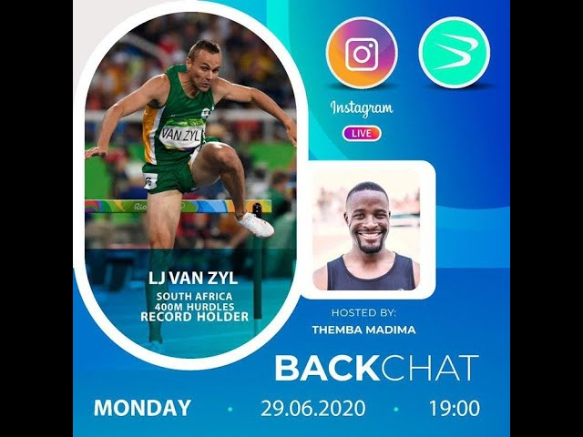 BackChat ep15 with LJ van Zyl