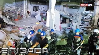 Brigada: Search and rescue operations sa gumuhong supermarket sa Pampanga