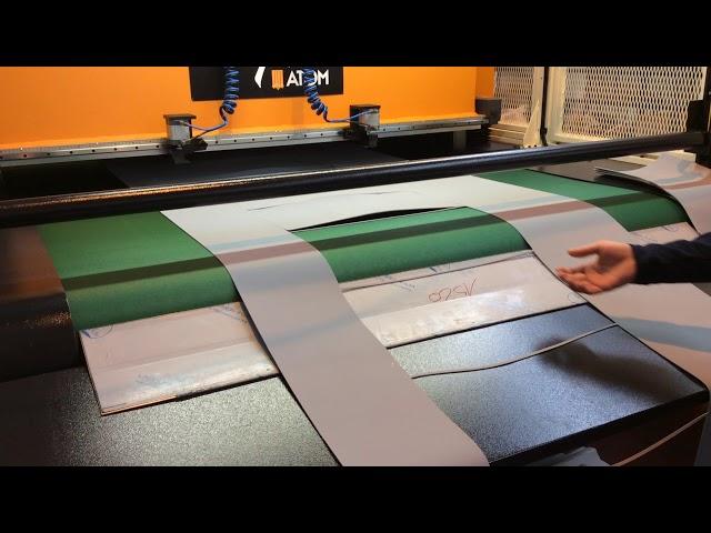 Chiesa TTM Belt Automatic Full Beam Cutting Press