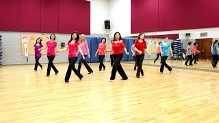 The Language of Love - Line Dance (Dance & Teach in English & 中文)