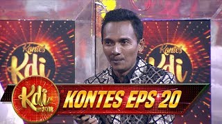Ternyata Pencipta Lagunya, Fauzi Bima Lebih Suka Penampilan Janwar - Kontes KDI Eps 20 (31/8)