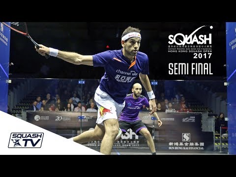 Squash: Hong Kong Open 2017 - Mo.ElShorbagy v Ma.ElShorbagy - Men's SF Roundup