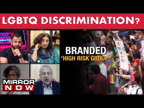 LGBT community can't donate blood?  – The Urban Debate (July 21)