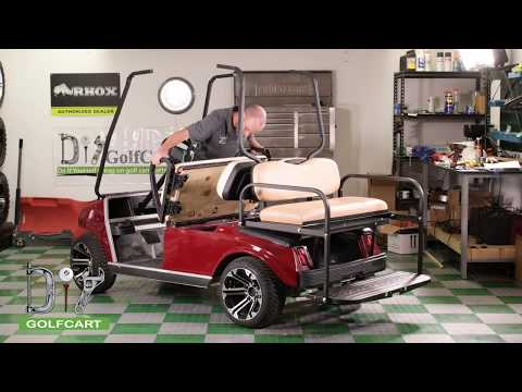 Club Car DS Modz™ All American Rear Seat Kit Installation How-To
