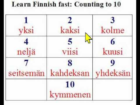 Learn Finnish online | Free Finnish lessons