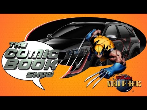 The Comic Book Show: Official Wolverine Car, Wonder Woman Director and More!