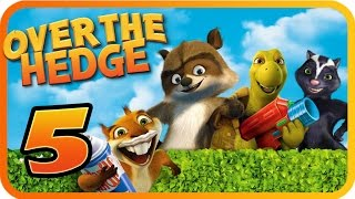 Over The Hedge Walkthrough Part 5 (PS2, GCN, XBOX, PC) Mission 7 & 8  [100% Objectives]