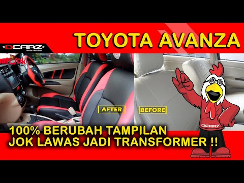 021-8227931-Desain Sarung Jok Mobil Avanza Bahan Jok Kulit Mbtech Camaro
