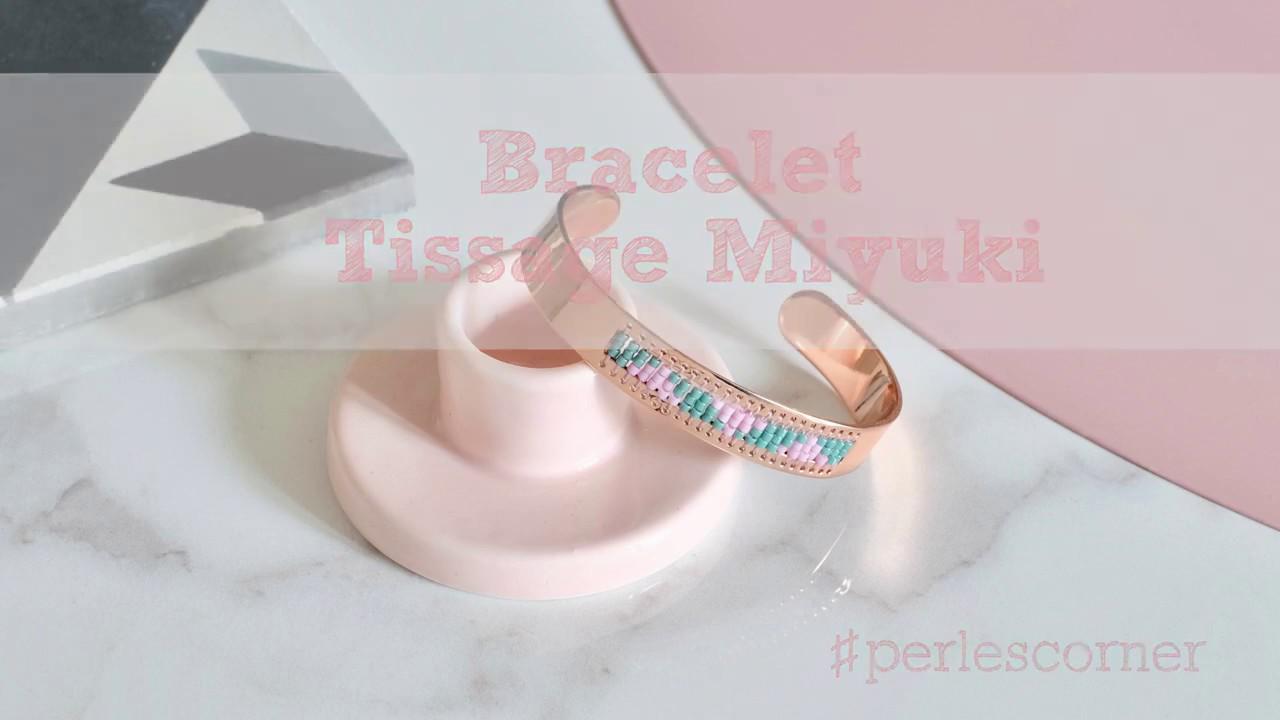 Populaire Miyuki Weaving Bracelet Tutorial - YouTube ZI88