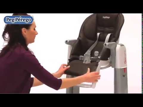 chaise haute transat balancelle tatamia de peg perego youtube. Black Bedroom Furniture Sets. Home Design Ideas