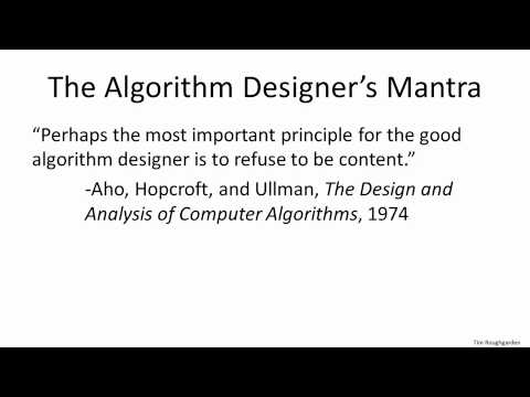 Coursera Design And Analysis Of Algorithms I 1 1 Introduction