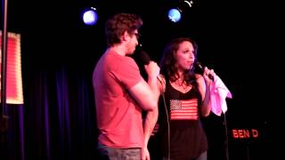 Nick Adams and Ellyn Marie Marsh sing Suddenly Seymour at Broadway Sessions 8/16/12