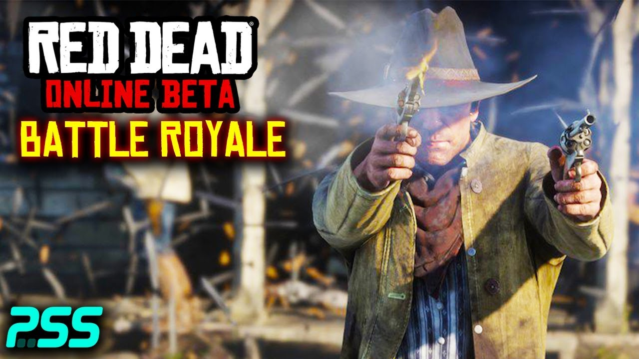 Red Dead Redemption 2 Online Gun Rush Battle Royale Mode Gameplay