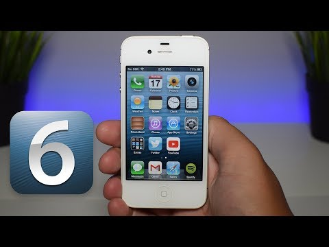 I Downgraded my iPhone 4s to iOS 6