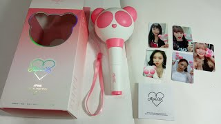 UNBOXING OFFICIAL LIGHTSTICK APINK VER. 2